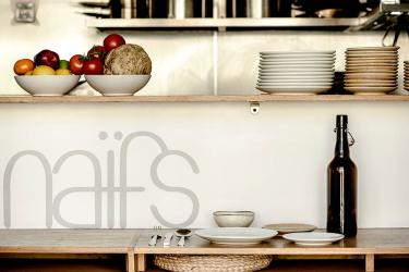 Naifs is a vegan and vegetarian bistro for Peckham