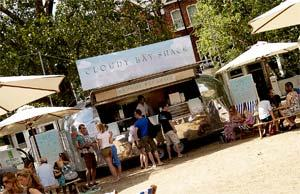 Cloudy Bay Shack returns to Parsons Green with Skye Gyngell as chef