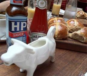 Breakfast at Jamie's - Fifteen London's Full Monty.