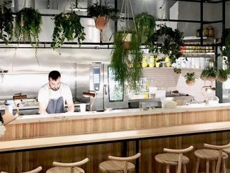 Amber restaurant will have Middle Eastern via Aldgate East