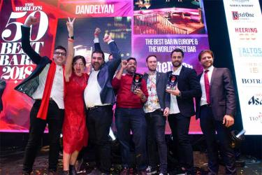 London's Dandelyan is the World's Best Bar for 2018