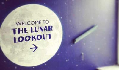 John Lewis Oxford Street launches their rooftop Lunar Lookout