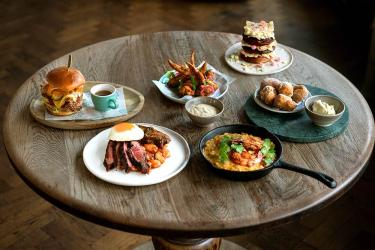 Best places delivering brunch in London