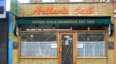 Arthur's Cafe in Dalston is closing for good