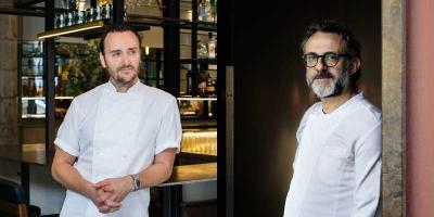 Top chef Massimo Bottura is doing a guest pizza at Hai Cenato