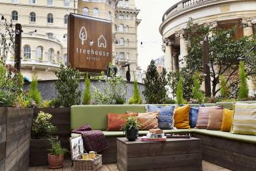 The Courtyard at Treehouse is the latest hotel forecourt to turn alfresco restaurant