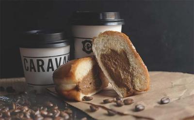 The Caravan Coffee doughnut kicks off Crosstown's single series