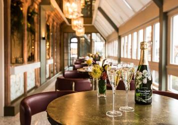 Harrods unveil their summer Perrier-Jouet Champagne Terrace