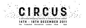 Foodie treats at Circus 11 Christmas market in Shoreditch