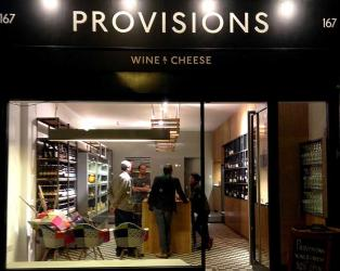 Provisions wine and cheese store opens on Holloway Road
