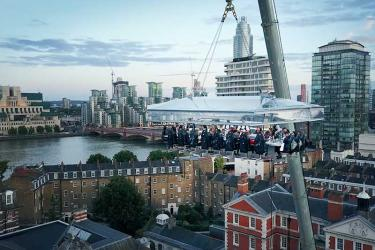 London in the Sky 2018 trebles with three sky-high tables and three top chefs