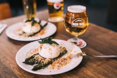 Camden Town Brewery bring in Theo Randall for their Camden Beer Hall menu
