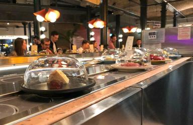 Test Driving Pick and Cheese - the world's first cheese conveyor belt restaurant