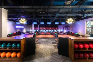 All Star Lanes have opened their Westfield London bowling alley and it looks great