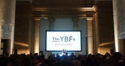 The 2015 YBF awards are announced at the Tate