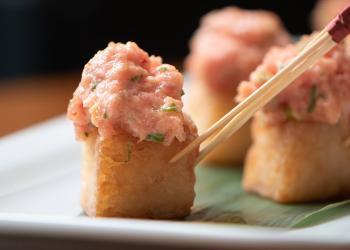 How to make TikTok viral recipe Nobu's spicy tuna crispy rice
