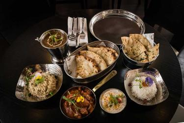 Dip in Brilliant will be Dipna Anand's casual Punjabi cafe in Fulham