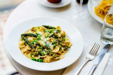 Stampa on Davies Street is a new budget pasta spot for Mayfair