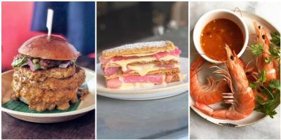 Steak sarnies, Thai prawns, rhubarb and custard millefeuilles - it's this week's Instagram round-up