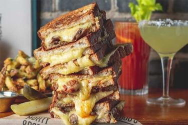 Morty and Bob's Sandwich Bar at Westfield London will serve up hot subs and more alongside their grilled cheese toasties