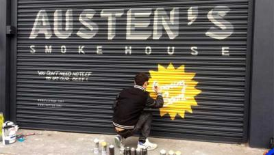 DJ Yoda is opening a BBQ restaurant Austen's Smokehouse in Kensal Rise