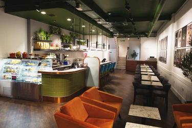 Harrods have opened H café - an all day eating and shopping space - in Henley