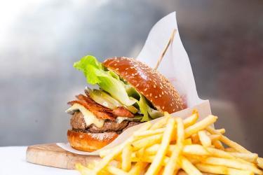 Claude Bosi brings his own burger to the Bibendum Oyster Bar