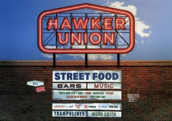 Street Feast's latest location is Wood Green with Hawker Union