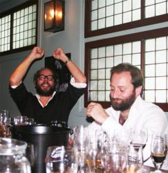 Wine Chap and the Draft House's Charlie McVeigh face-off in Grain vs Grape