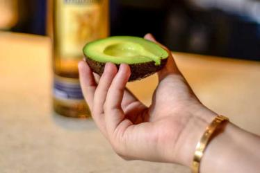 A London restaurant is celebrating National Tequila Day with an avocado luge