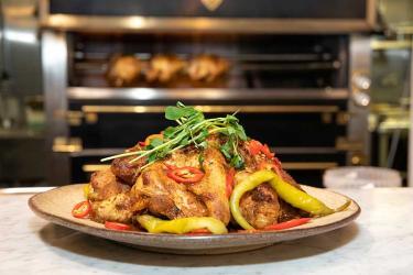 Ex-Harrods chef opens Kuku Riku rotisserie in Camden Market