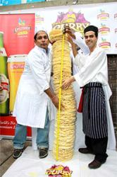 Brick Lane Festival beats poppadom stack world record