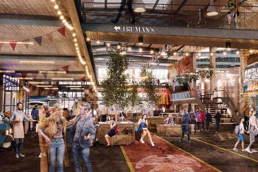 Truman's are moving to Walthamstow, opening a brewery with a taproom and street food market
