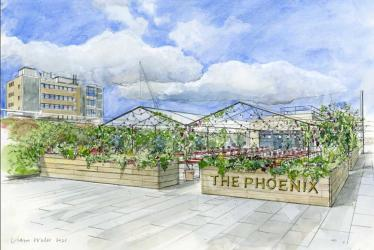 The Phoenix rises at Westfield London with a huge outside terrace this summer