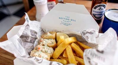 Kensington Place adds a pop-up fish & chip shop Notting Gill Chippy