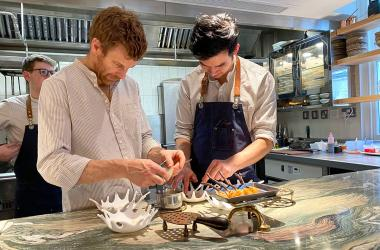 Test Driving Muse - Tom Aikens gets intimate in Belgravia