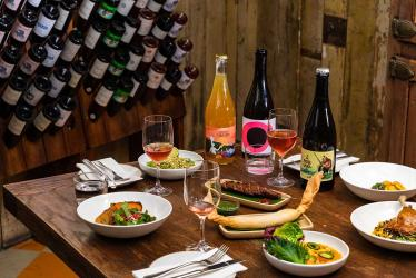 La Cave is Hoxton Holborn's new underground wine bar and chef's residency spot