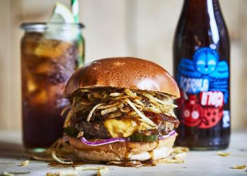 Honest Burgers latest special sees them team up with Karma Cola