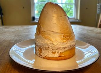 Big Mamma-to-you - we Test Drive delivery from Gloria (including their HUGE lemon meringue pie)