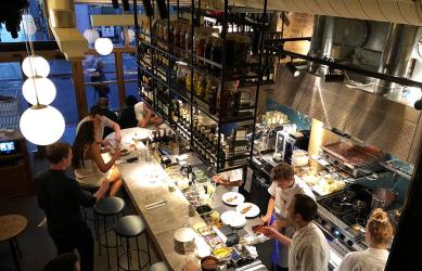 Test Driving Flor - a top Borough bakery/wine bar/restaurant combo from the Lyle's team