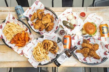 Peck! Peck! chicken shop in Hackney is the latest from East London fryers Sutton and Sons