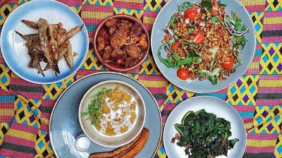 Zoe's Ghana Kitchen is the latest pop-up at Fitzrovia's Mortimer House