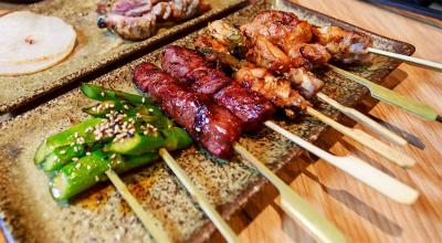 Head to ROBATA in Soho for an izakaya experience that's full of flair