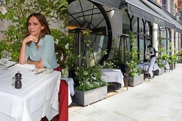 Victoria Beckham launches Scott's summer terrace