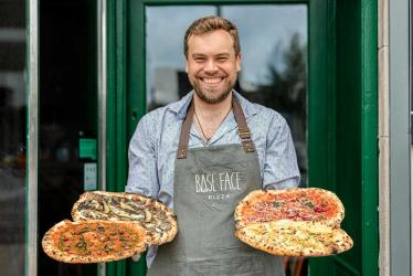 Base Face Pizza goes from lockdown delivery to Hammersmith restaurant