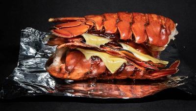 Burger and Lobster go all luxe KFC with their Double Drown lobster tail sandwich