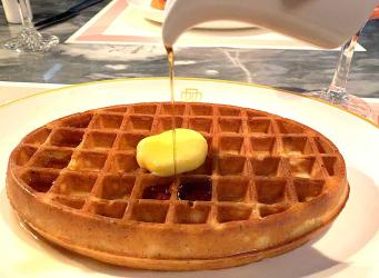 Test Driving the new Waffle and Bellini Hour at Bob Bob Ricard -
