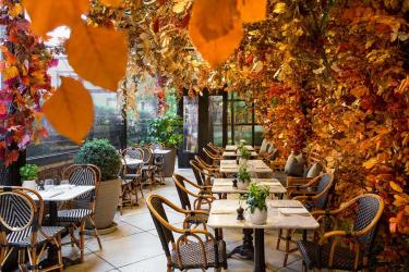 Dalloway Terrace unveils its new autumnal look