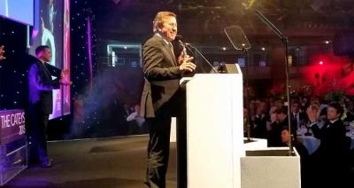 Nico Ladenis and Daniel Boulud honoured at The Cateys
