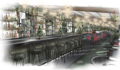 Le Chalet sets up for Winter on the Selfridges rooftop